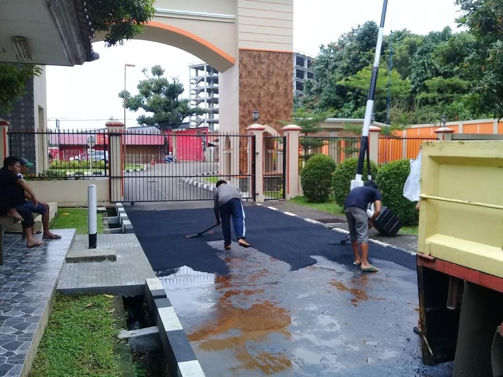 Jasa Pengaspalan Jalan Hotmix Cibubur