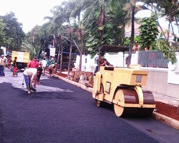 Jasa Pengaspalan Jalan Hotmix di Bekasi